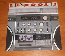 L.L. Cool J Poster Flat Square 1985 Promo 12x12 Rare