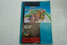 Notice Super nintendo / Snes Super Mario Kart PAL  fah Booklet*