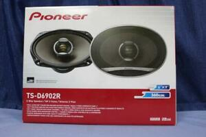 "Pioneer TS-D6902R 2-Way 6x9"" Co-Axial Pair 80W RMS 360W Peak New in Box"