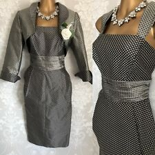 Mireia DRESS Jacket Suit SIZE 14 Wedding Occasion Mother Of The Bride.