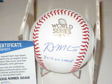 BRIAN McCANN Signed Official 2017 WORLD SERIES Baseball w/ Beckett COA & Insc