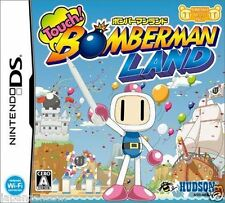 Used DS Touch! Bomberman Land   NINTENDO JAPANESE IMPORT