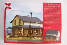 HO scale Busch 9727 American Ranch House with Two Sided Porch Model Building KIT
