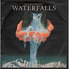 """Paul Mc Cartney 45giri 7"""" Waterfalls / Check My Machine Nuovo Parlophone"""