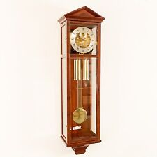 Hermle 70620-070351 Wunderschöne Seilzugregulator Pendelwanduhr aus Mahagoni