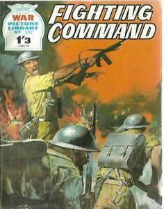 FIGHTING COMMAND,WAR PICTURE LIBRARY,NO.593,WAR COMIC,1970