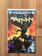 DC Rebirth Batman 1 Signed Tom King Tim Sale