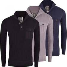 Crosshatch Funnel Neck Regular Jumpers & Cardigans for Men