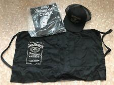 Jack Daniel's Old No.7 Brand BBQ Apron,Cider TShirt and Honey CAP