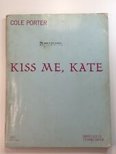 Kiss Me Kate Cole Porter Musical Complete Vocal Score Piano Sheet Music Book