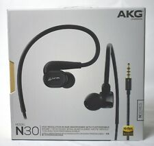 AKG-N30 BLK In-Ear Canal Headphones / FREE-SHIPPING