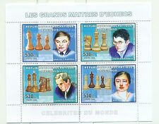 ECHECS - CHESS CONGO 2006 set perforated