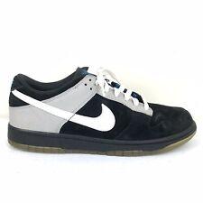 Nike Dunk Low 6.0 Basketball Skate Shoe Men's Size 10.5 Black Gray 314142-012