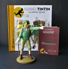 "LARGE 5"" TINTIN FIGURINE ""OFFICIAL COLLECTION"" # M109 THARKEY LE FIDÈLE SHERPA"