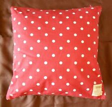 "Primitive Red Dot Decorative Throw Pillow - 16"" x 16"""