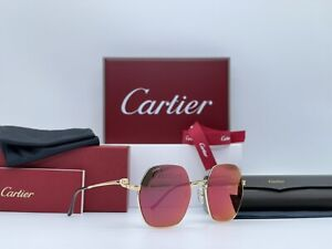 Occhiali Cartier Panthere CT0267S 100% Genuine Sunglasses Lunettes Frames