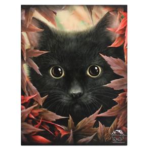 Linda Jones canvas print of Autumn Cat