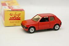 Solido Hachette 1/43 - Peugeot 205 GTI Rouge 1984
