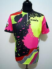 DIADORA Maglia Ciclismo Bici Bike MTB Cycling Jersey T-Shirt Sz.M - 48
