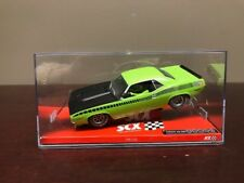 RARE SCX  64380 Plymouth AAR Cuda Lime 1:32 Limited Edition 84/500