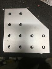 "Aluminum Bracket, 80/20 4"" / 100mm, Qt 6"