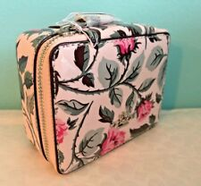 Coach Jewelry Box Rose Print Travel Accessory Case ~ F28404
