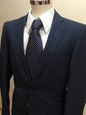 ABITO UOMO SARTORIA MADE IN ITALY DROP 6 BLU FRESCO LANA 46 48 50 52 54 56 58 60