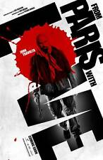FROM PARIS WITH LOVE Movie POSTER 27x40 B John Travolta Jonathan Rhys Meyers
