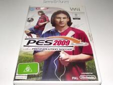PES 2009 Soccer Nintendo Wii PAL  *No Manual* Wii U Compatible