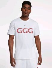 "Nike Jordan Triple G ""GGG"" Gennady Golovkin Limited Edition T-shirt AQ8818-010 M"
