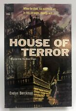 HOUSE OF TERROR Evelyn Berckman DELL Thriller HORROR