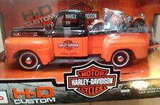 Maisto Harley Davidson 1:24 1948 Ford F-1 Pickup and 1:24 1948 FL Panhead NIB