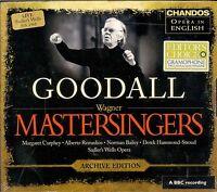 Goodall Richard Wagner Mastersingers of Nuremberg Archive edition box CD NEW
