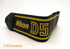 GENUINE NIKON D5 NECK STRAP - NIKON STOCK - BRAND NEW