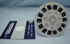 VILLEFRANCE TO CAP D'AIL THE RIVIERA FRANCE #1427 VINTAGE VIEW-MASTER REEL*