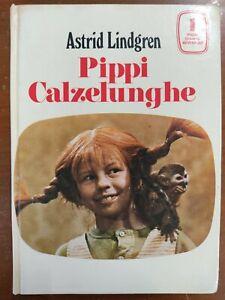 Pippi Calzelunghe LINDGREN 1970 VALLECCHI ILLUSTRATO INGRID VANG NYMAN prima ed.