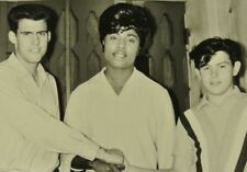 1950's Little Richard Original 8 x10 Back & White Candid Photo Radio Station? #6