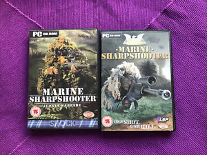Marine Sharpshooter Jungle Warfare +one Shot One Kill Pc Game 2003