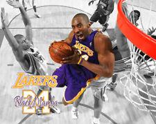 "Los Angeles Lakers KOBE BRYANT Spotlight Photo 8x10 #1 ""Black Mamba"""
