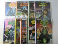 Star Wars Dark Horse Comic Book Magazines  Lot of 9  #2 3 4 5 6 7 8 9 10  Nice