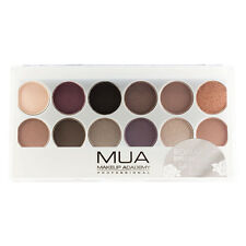 MUA MAKE UP 12 Tonalità Eyeshadow Palette ROMANTICO efflorescence BROWN GOLD SHIMMER