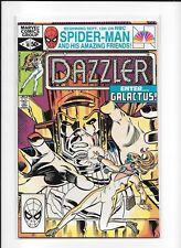 DAZZLER #10 HIGHER GRADE (8.0) MARVEL COPPER GALACTUS