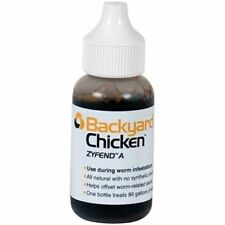 Natural Dewormer Backyard Chicken Zyfend A Poultry Parasite Remedy -Treats 90Gal