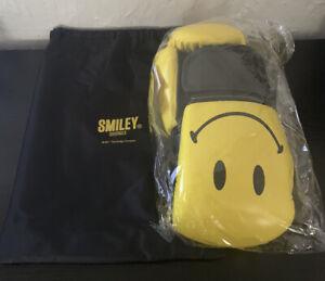 Chinatown Market X Smiley Originals Yellow/Black Boxing Gloves Unisex NEW!