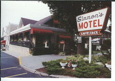 AL-077 Pennsylvania, Hershey, Simmon's Motel, Continental Chrome Postcard