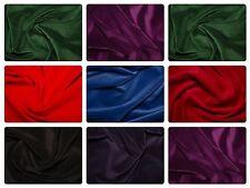 """Premium 100% Cotton Velvet Fabric Material - 112cm (44"""") wide, 7 Colours"""