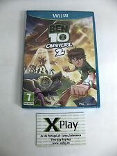 Wii U Ben 10 Omniverse 2 Nuevo Precintado Pal España