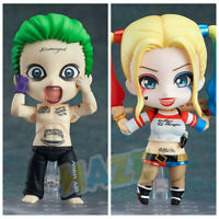Suicide Squad Q Joker Harley Quinn Action Figure Figurine Toy New in Box