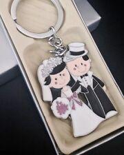 100PCS Wedding Keychains Favors Recuerdos De Boda Llaveros Bride And Groom Party
