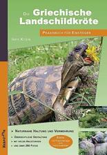 Die Griechische Landschildkröte - Ines Kosin - 9783936180442 PORTOFREI